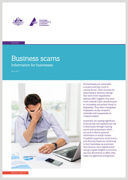 Small business scams fact sheet