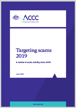 Targeting scams 2019: a review of scam activity since 2009