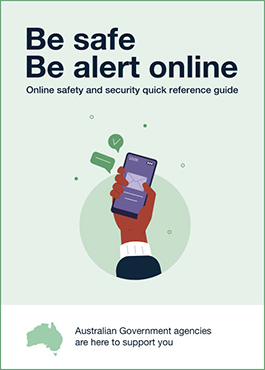 Be safe, be alert online