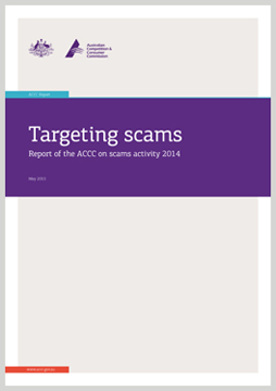 Targeting scams: report on scam activity