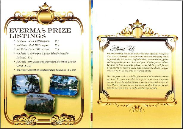 EverMas Tourism Group brochure