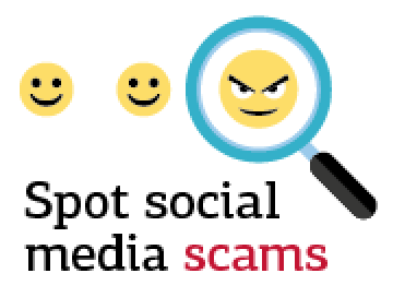 Spot social media scams